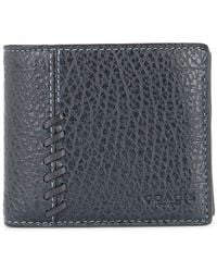 COACH - Textured Leather Wallet - Lyst