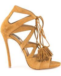 DSquared² - Tassel Tie Sandals - Lyst