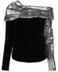 Monse - Sequin Embellished Sweatshirt - Lyst