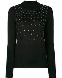 Gaëlle Bonheur - Studded Turtleneck Sweater - Lyst