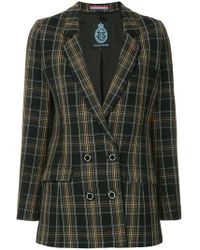 Guild Prime - Double Breasted Check Blazer - Lyst