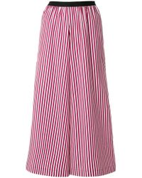 Antonio Marras - Striped Cropped Palazzo Trousers - Lyst