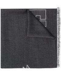 Philipp Plein - Logo Print Scarf - Lyst