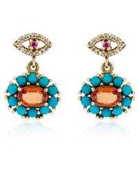 Ileana Makri - Dream Flower Earrings - Lyst