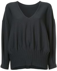 DES PRÉS - V-neck Sweater - Lyst