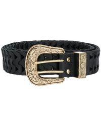 B-Low The Belt - Embossed Buckle Belt - Lyst