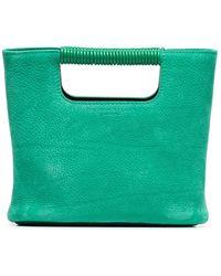 Simon Miller - Green Birch Mini Leather Tote - Lyst