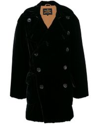 Vivienne Westwood Anglomania - Double Breasted Midi Coat - Lyst