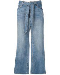 Armani Exchange - Pantalones anchos - Lyst