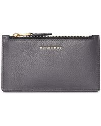 Burberry - Two-tone Leather Card Case - Lyst