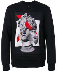 Neil Barrett - Geometric Sculpture Sweatshirt - Lyst