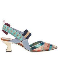 Fendi - Colibrì Slingback Court Shoes - Lyst