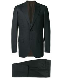 Ermenegildo Zegna - Striped Suit - Lyst