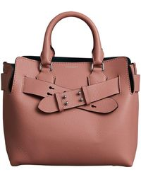Burberry - The Small Leather Belt Bag - Lyst