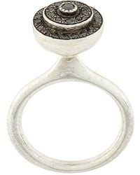 Rosa Maria - Circular Diamond Ring - Lyst