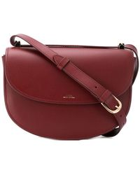 A.P.C. - Sac Geneve Saddle Bag - Lyst