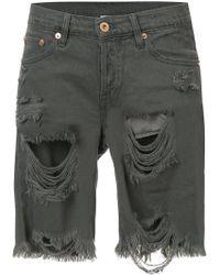 NSF - Ripped Denim Jeans - Lyst