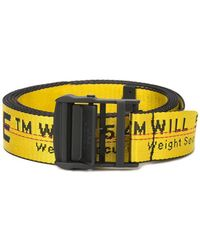 Off-White c/o Virgil Abloh - Industrial Logo Belt - Lyst