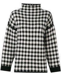 Dagmar - Helena Checked Sweater - Lyst