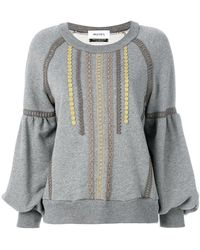 MUVEIL - Embroidered Sweater - Lyst