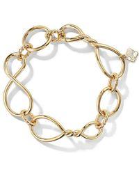 David Yurman - 18kt Yellow Gold Continuance Chain 18mm Bracelet - Lyst