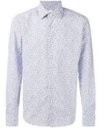 Xacus - Floral Print Shirt - Lyst