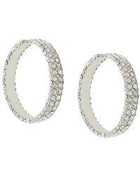 Magda Butrym - Large Embellished Hoop Earrings - Lyst
