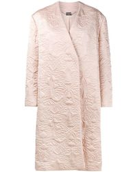 Alexander McQueen - Butterfly Embroidered Cocoon Coat - Lyst