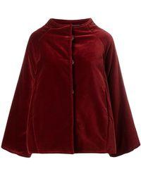 Gianluca Capannolo - Oversized Velvet Jacket - Lyst