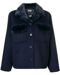 P.A.R.O.S.H. - Buttoned Up Jacket - Lyst