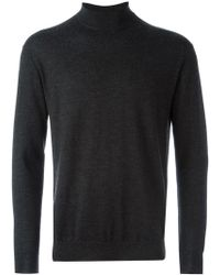 N.Peal Cashmere - Fine Knit Roll Neck Sweater - Lyst