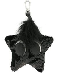 Kendall + Kylie - Sequined Star Bag Charm - Lyst