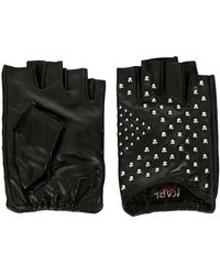 Karl Lagerfeld - X Kaia Studded Fingerless Gloves - Lyst