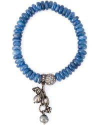 Loree Rodkin - Embellished Diamond Bracelet - Lyst
