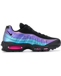 4bd85c88b8 Lyst - Nike Air Max 95 Ultra Se Premium Sneakers in Black for Men