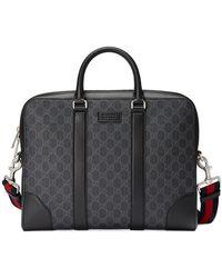Gucci - Aktentasche mit Monogrammmuster - Lyst
