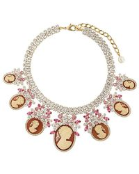 Dolce & Gabbana - Crystal-embellished Necklace - Lyst