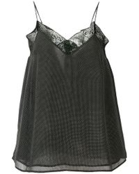 Essentiel Antwerp - Micro Dotted Vest Top - Lyst