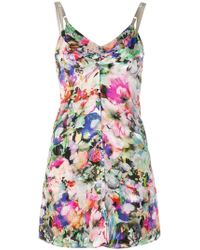 Y. Project - Floral Print Tunic - Lyst