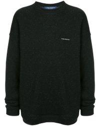we11done - Printed Sweatshirt - Lyst