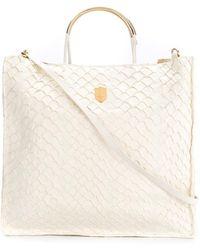 Osklen - Leather Tote Bag - Lyst