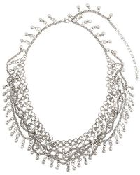 Saint Laurent - Folk Necklace - Lyst