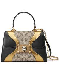 Gucci - Osiride Small GG Top Handle Bag - Lyst