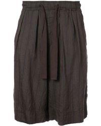 Ziggy Chen - Elasticated Waist Shorts - Lyst