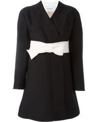 Valentino - Bow Belt Dress - Lyst
