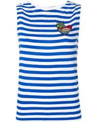 Love Moschino - Striped Vest Top - Lyst