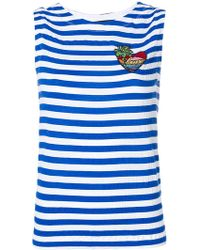 Love Moschino | Striped Vest Top | Lyst