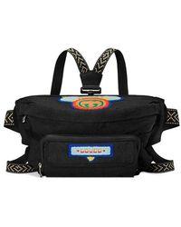 824e917fe5f9 Dolce   Gabbana Logo Panel Belt Bag in Black for Men - Lyst