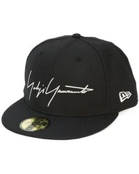 Yohji Yamamoto - Embroidered Logo Cap - Lyst