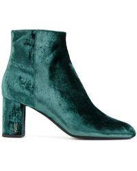 Saint Laurent - Babies 90 Ankle Boots - Lyst